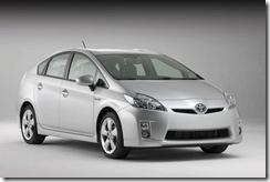 Carro híbrido Toyota Prius