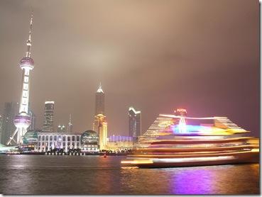 Rio Huangpu em Xangai, em foto de Jorge Ferreira