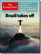 Capa do The Economist - O Brasil Decola
