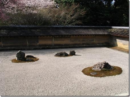 Jardim RyoanJi-Dry em Quioto
