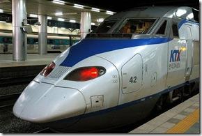 Trem rápido coreano