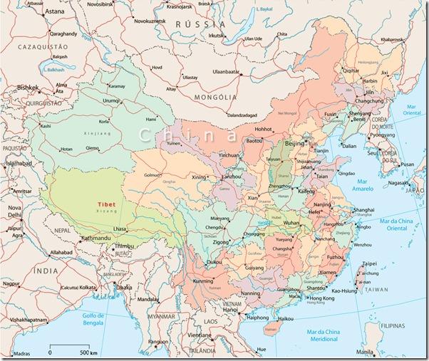mapa-china
