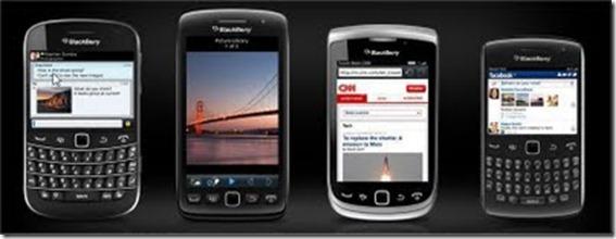 Novos Blackberry