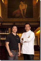 Shin Koike e Roberto NG