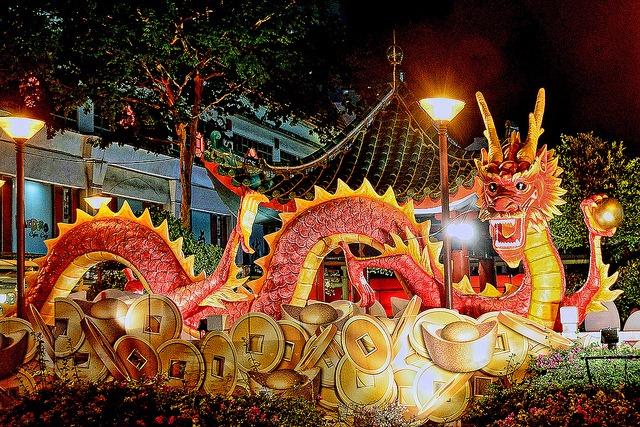 Resultado de imagem para movimentacao de chineses no festival da primavera