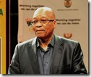 President Jacob Zuma addresses a media briefing on arrangement relating to the passing of Former President Nelson Mandela