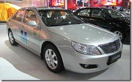Carro híbrido chinês