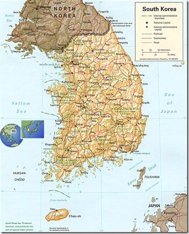 Coreias do Sul e do Norte