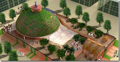 Pavilhão da Índia na Expo Xangai 2010