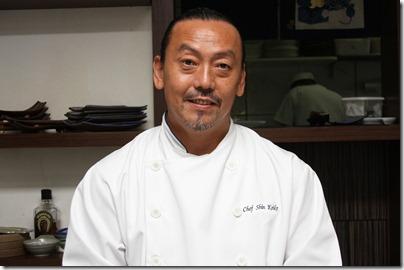Shin Koike, chef fusion. Foto divulgação