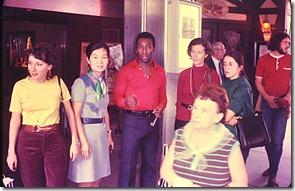 Nova York junho 1972 - Pelé com ambassadors brasileiras