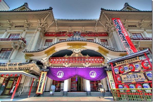 Kabuki-za-theatre-in-Ginza-Tokyo