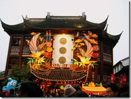 Chinese New Year Decoration of Shanghai Old Street 4
