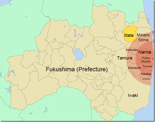 Iitate agains Fukushima evacuation zones