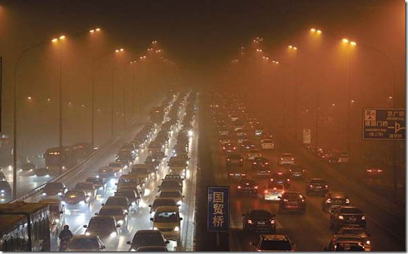 CHINA-POLLUTION/