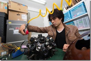 Takayuki Ohira, Planetarium Creator, Megastar, Tokyo, Japan, September 10, 2012.