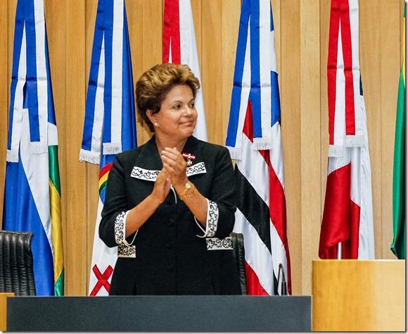 Brasília - DF, 05/03/2013. Presidenta Dilma Rousseff durante cerimônia de posse dos novos dirigentes do Tribunal Superior do Trabalho (TST). Foto: Roberto Stuckert Filho/PR
